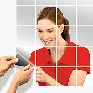 Adhesive Mirror Tiles