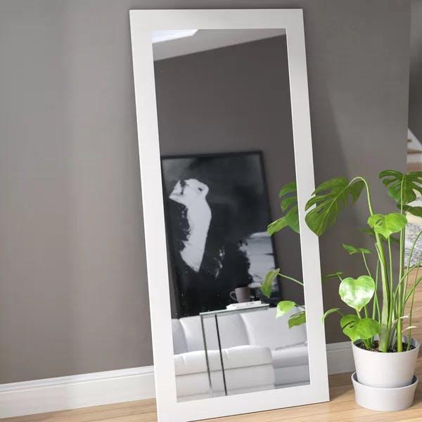 White Florr Mirror