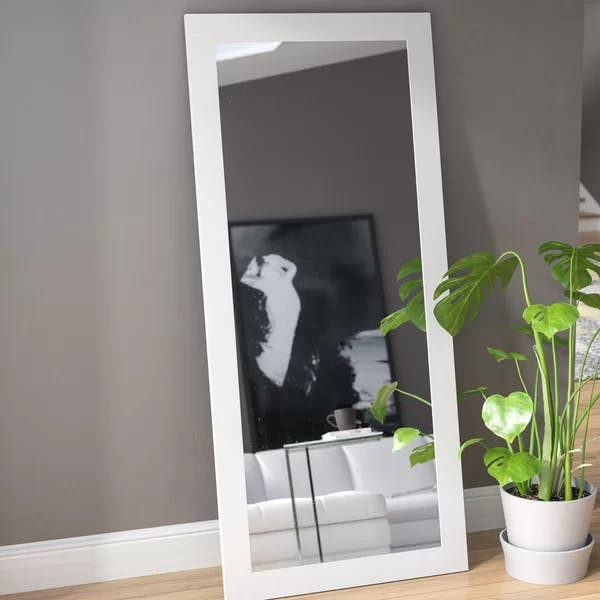 White Florr Mirror
