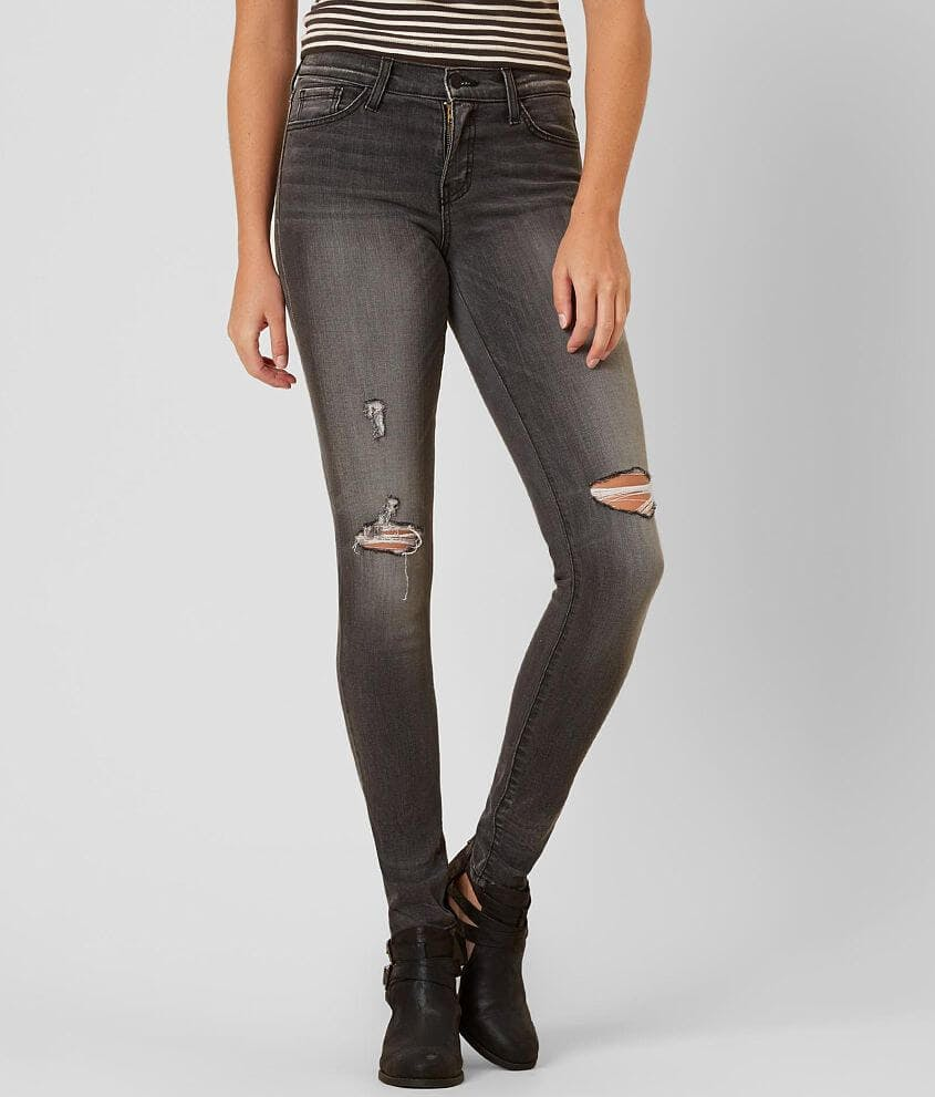 Flying Mokey distressed balck jeans