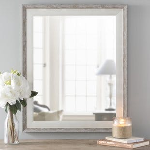 Lark Manor Epinal Shabby elegance wall mirror