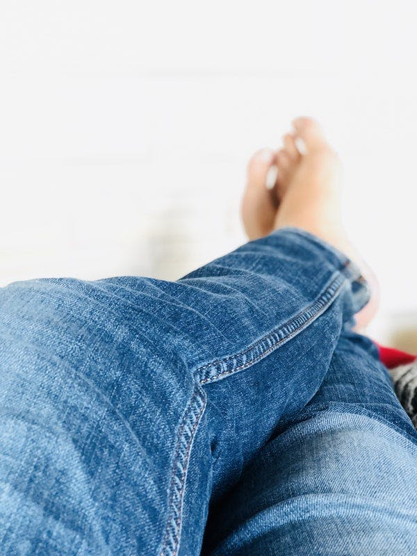 High-Waisted Boyfriend Jeans [December 2020]