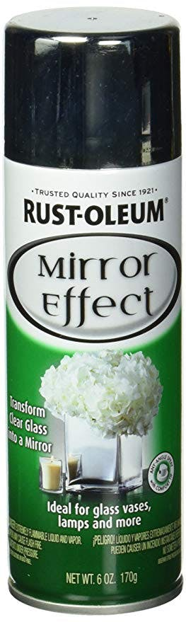 Rustoleum mirror spray paint
