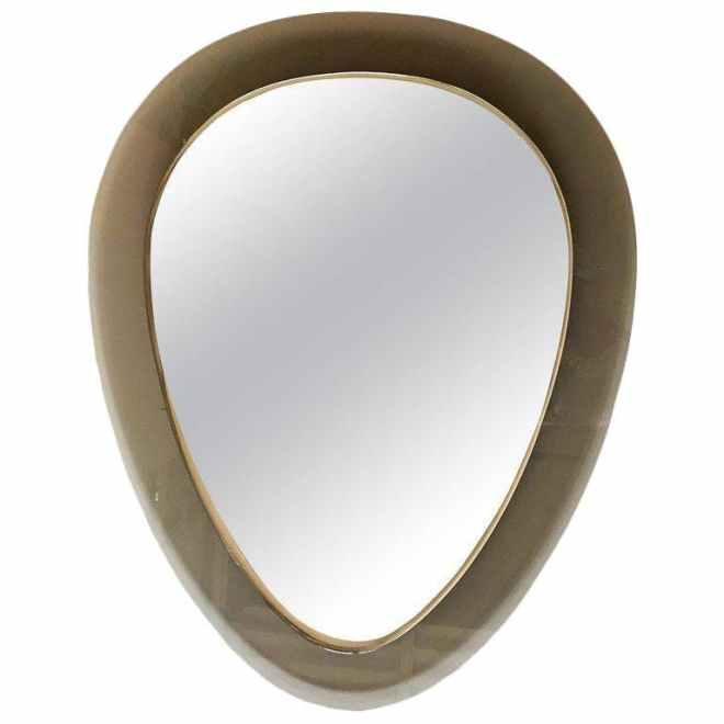 Beveled Triangle Mirror