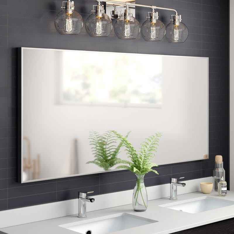 modern, bathroom, mirror, double vanity