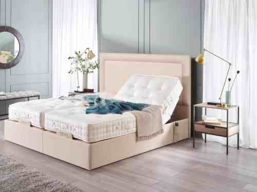 small resolution of sapphire ii adjustable bed with arcadia headboard
