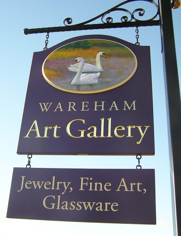 Wareham Art Retail Sign - Danthonia Design Usa