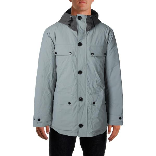 Nautica Men's Hooded Down Jacket