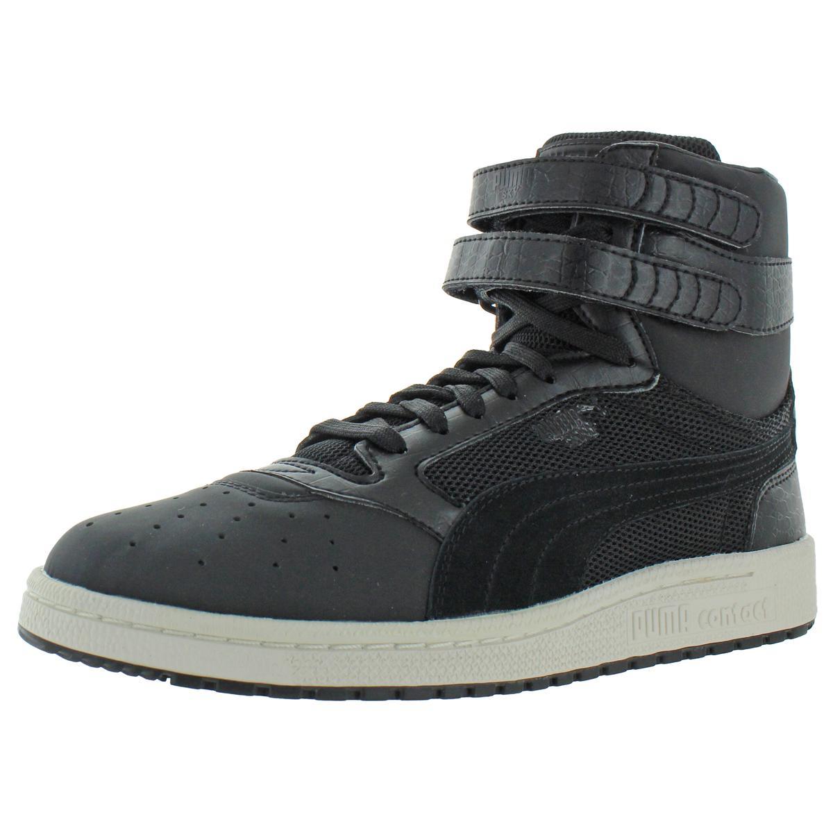Puma Boys Sky II Hi Black Basketball Shoes Sneakers 6.5 ...