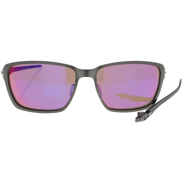 Oakley Rectangle Silver Grey Sunglasses