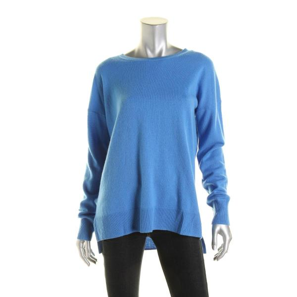 Aqua 3829 Womens Cashmere Knit Crew Pullover Sweater Top
