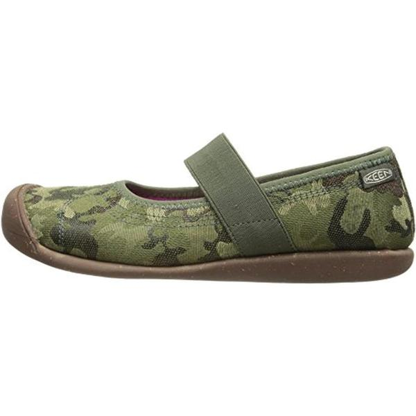 Keen 6966 Womens Sienna Canvas Camouflage Casual Mary