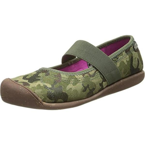 Keen 9048 Womens Sienna Mj Green Canvas Camouflage