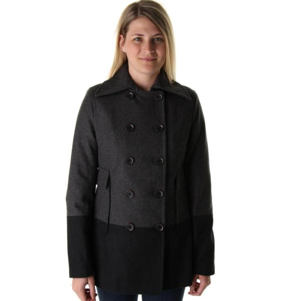 Women's Double Breasted Wool Pea Coat