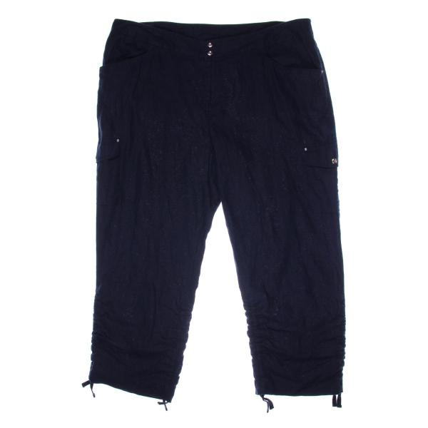 6962 Womens Linen Ruched Casual Cargo Pants Bhfo