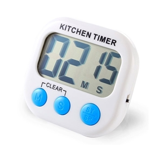 loud kitchen timer one hole faucet white digital magnetic cooking lcd for food household usage alarm