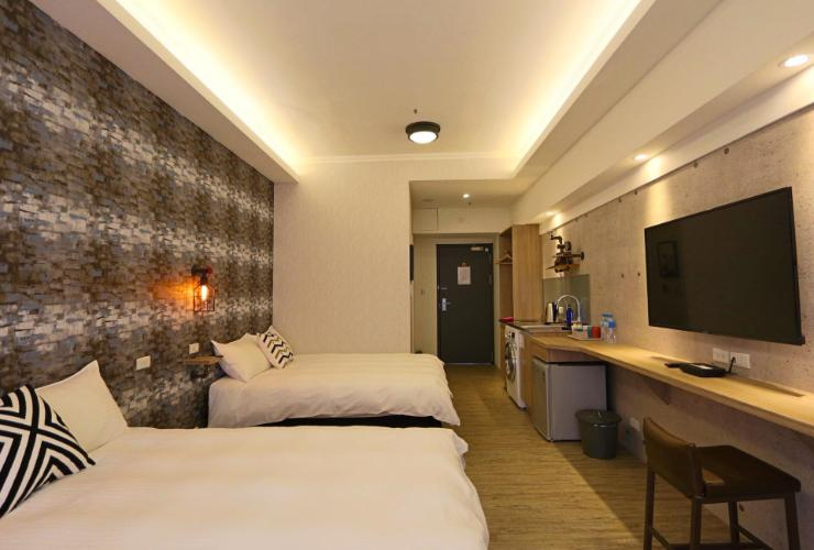 Mrt Taipei Main Station Cozy Room For 3 4 Persons