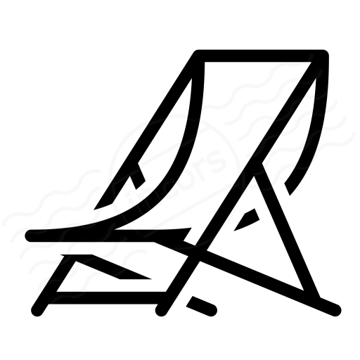 IconExperience  ICollection  Deck Chair Icon