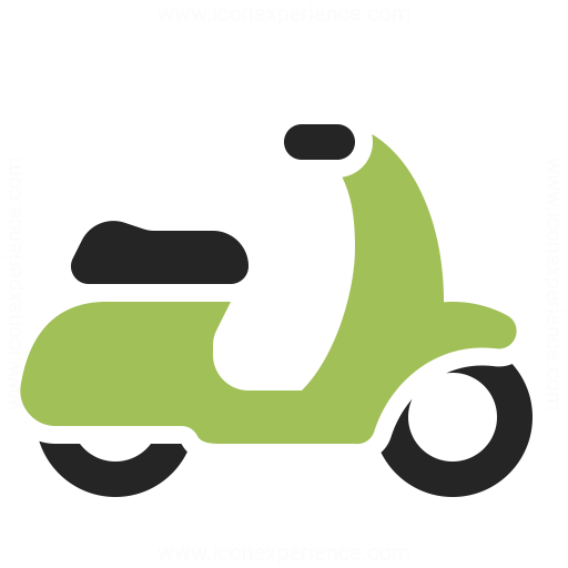 motor scooter icon iconexperience