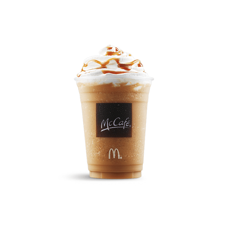 do mcdonald's frappes have coffee in them