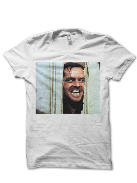 JACK NICHOLSON THE SHINING TSHIRT CLASSIC MOVIES SHIRTS BIRTHDAY GIFTS CHEAP SHIRTS TREND