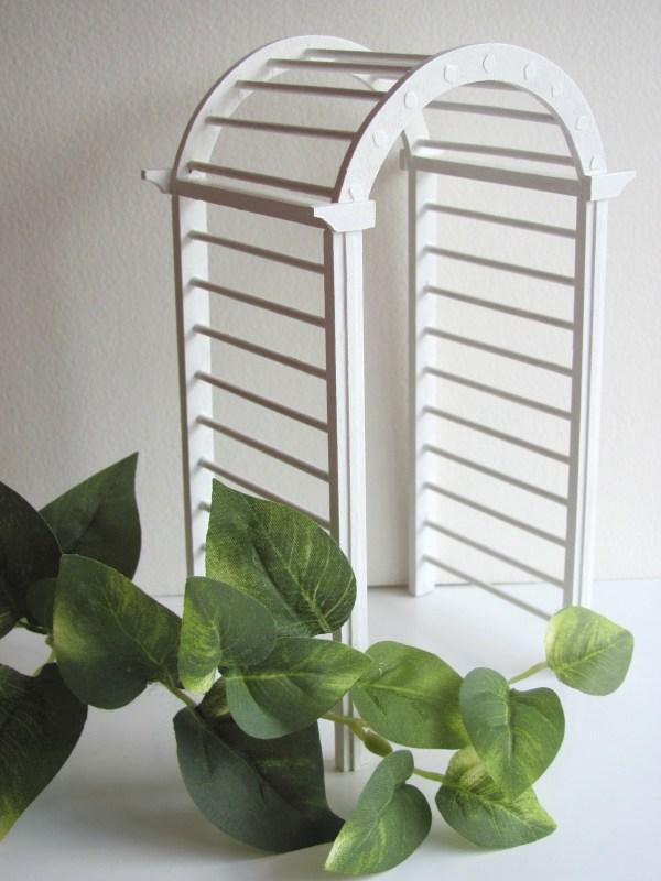 miniature garden arbor kit