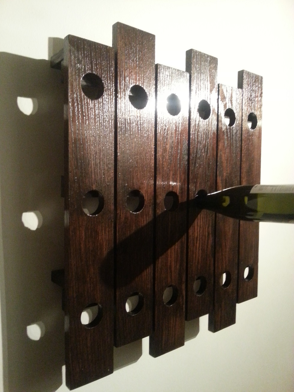 riddling wine rack from