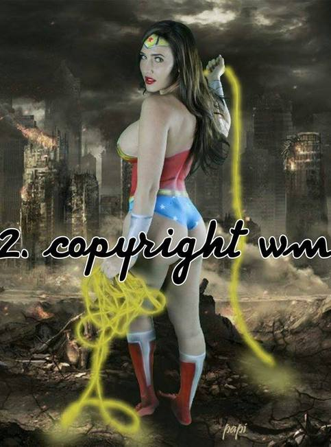 Nessa Marie Posters WonderWoman Cosplay 2 on Storenvy