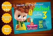 Hotel Transylvania Birthday Invitations