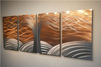 Copper Metal Wall Art | Wall Plate Design Ideas