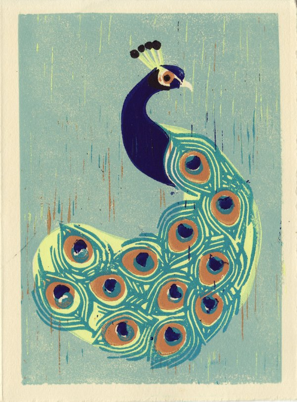 Printable Peacock Art Prints