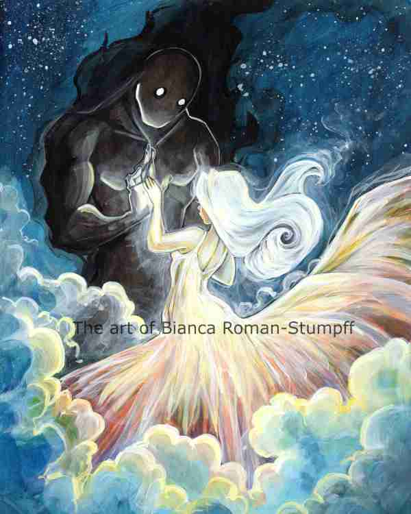 Light And Dark Dance Print Art Of Bianca Roman