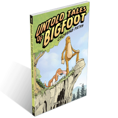 Untold Tales of Bigfoot: Crossing Paths Cover