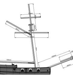 8 gun buccaneer sloop 15 20mm scale 3d printed kit thumbnail 3  [ 2802 x 1440 Pixel ]