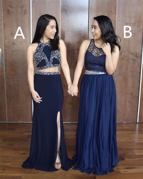 specialty kitchen stores mixers two pieces prom dresses,prom dress,prom dresses,navy blue ...
