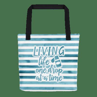 Living life one drop | tote bag