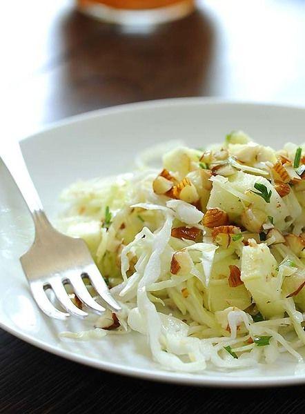 Receta Ensalada de manzana verde con repollo  CyC