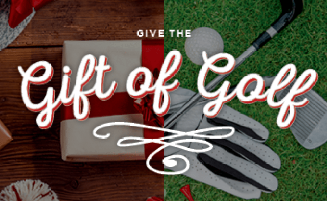 Give The Gift Of Golf This Holiday Season