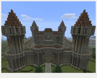 minecraft castle easy castles play google version