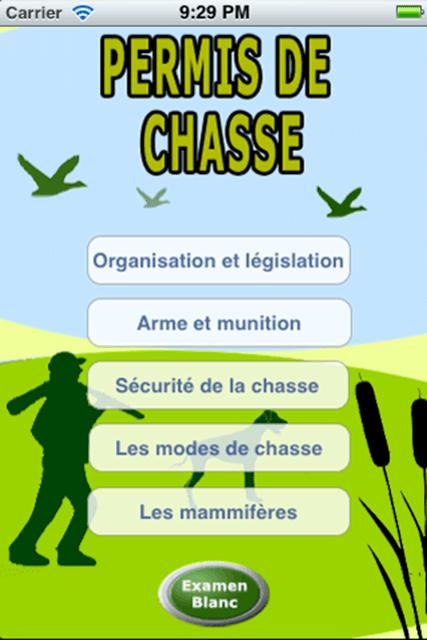 Examen Blanc Permis De Chasse : examen, blanc, permis, chasse, About:, Permis, Chasse, Store, Version), Apptopia