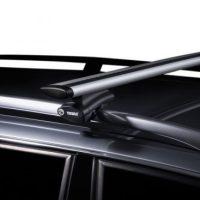 Hyundai iLoad 2dr Van 02/08on Prorack P-Bar Roof Racks (pr ...