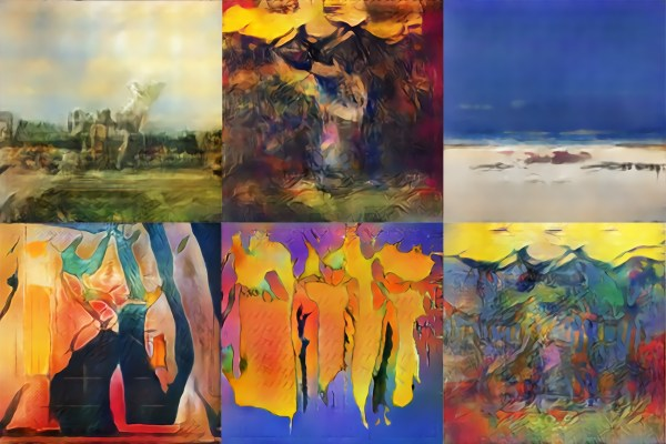 Artificially Intelligent Painters Invent Styles Of Art