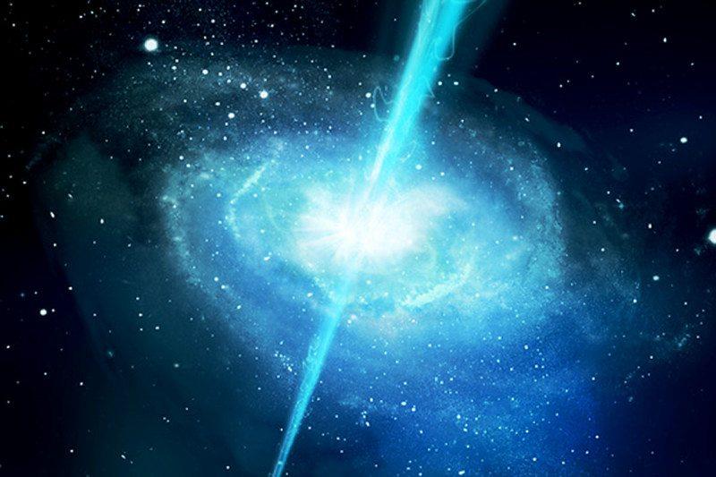 A gamma-ray burst
