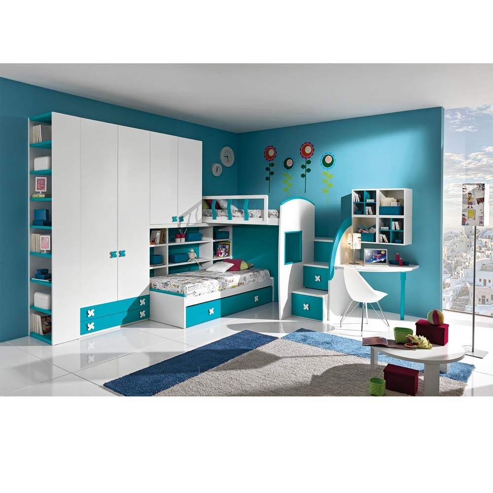 COLLEZIONE TOP Camerette Moderne CASTELLI E SOPPALCHI POP