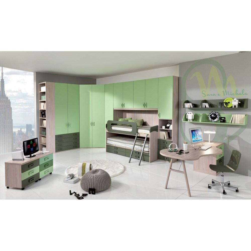 COLLEZIONE TOP Camerette Moderne CASTELLI E SOPPALCHI POP  shop online su GranCasa
