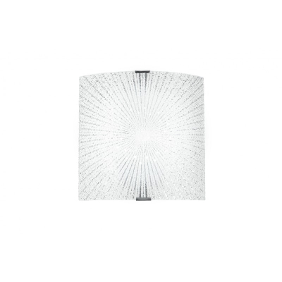 FAN EUROPE Applques Led APPLIQUE 26X26 12W LED CHANTAL BIA  shop online su GranCasa