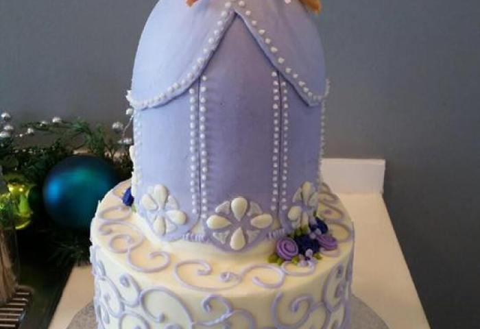 Princess Sophia Lavender Doll Cake Hayley Cakes And Cookieshayley