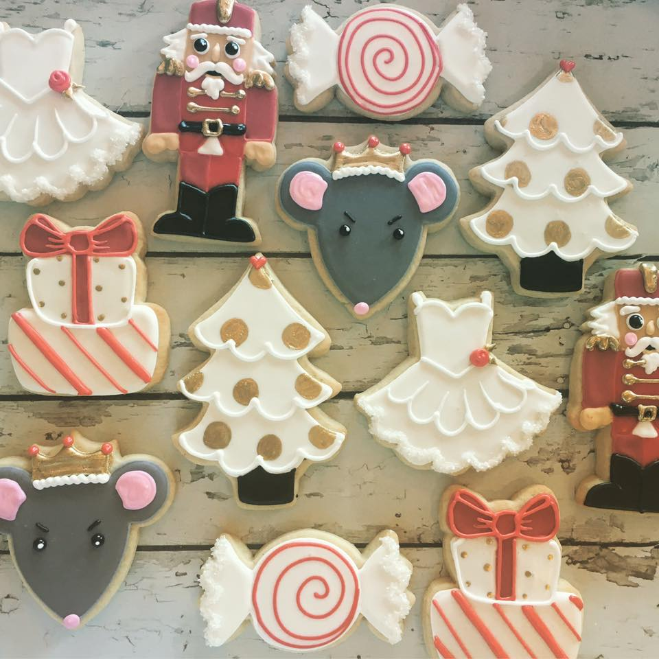 Nutcracker Ballet Cookie Set Hayley Cakes And