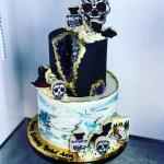 Gothic Marble Geode Cake Hayley Cakes And Cookieshayley Cakes And Cookies