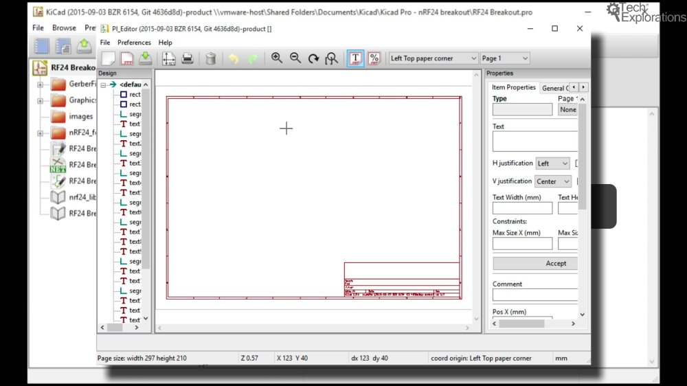 medium resolution of with the pi editor you can change the information section of the schematic sheet